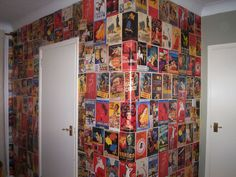 Film poster wall