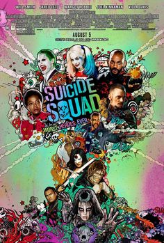 The gang's all here in this awesome new 'Suicide Squad' poster