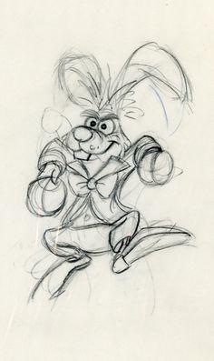 The March Hare Alice in Wonderland #Disney