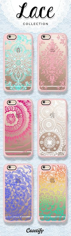Love for lace! Lace style phone cases