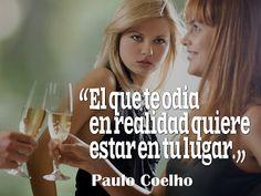 #Envidia www.comunidadcoelho.com - El que te odia...
