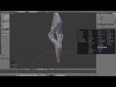 Computational Design in Blender - Melting Curves - YouTube