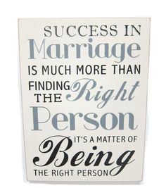 Success In Marriage SignSuccess In Marriage Sign,