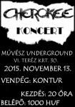 Cherokee a Művész Undergroundban – Vendég: Kontur