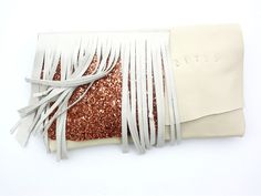 ECO leather clutch - miscellanea.