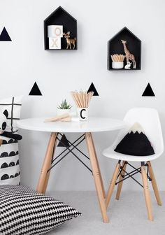 High Quality Style with Eames Chairs 25 pics Interiordesignshome.com kids room ideas with eames chair