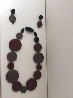 ANGELA CAPUTI, ITALY £300 DESIGNER NECKLACE AND EARRINGS SET - REVERSIBLE!!   Jewellery & Watches, Costume Jewellery, Necklaces & Pendants   eBay!