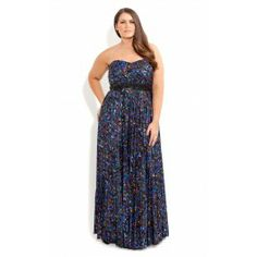 Go for an absolutely divine look with our Gemstone Pleat Maxi Dress. Boasting a beautiful gemstone print, this dress features a sweetheart neckline, lightly padded bodice with an elasticised back for extra comfort, beaded waist band, self-tie sash back to cinch you in at the waist and a flowing pleated skirt. This fully lined dress is an absolute dream to wear.