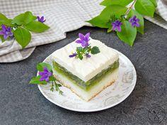 Orzeźwiające ciasto - Zielone jabłuszko