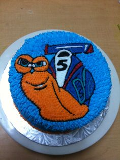 Turbo cake - I need someone to help me make this for Jesse's birthday...I don't have cake decorating skills!