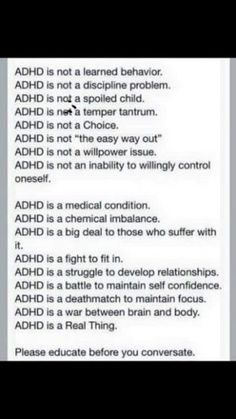 add,adhd,add,adhd,adult add,adult adhd,attention deficit,living with ADD,living with ADHD,coping with ADD,coping with ADHD,symptoms,problems,ADD problems,ADHD problems,ADHD symptoms,@addstrategies, ADD symptoms,#adhd, #add, @dougmkpdp,@adhdstrategies,strategy,strategies,add,adhd,adult add,adult adhd,attention deficit,strategy, strategies, tips,living with ADD,living with ADHD,coping with ADD,coping with ADHD,symptoms,problems,ADD problems,ADHD problems,ADHD symptoms,@addstrategies, ADD sympto... Adhd Quotes, Autism Quotes, Attention Deficit Disorder, Mental Disorders, Autism Spectrum, Adhd Brain, Informational Texts, Adhd Symptoms, Dysgraphia Symptoms