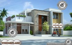 House Kerala Plans Photos - 2 Story 1803 sqft-Home Home Design Images, House Design Pictures, Best Modern House Design, Cool House Designs, Double Storey House, Low Cost Housing, Indian Home Design, Style Simple, Beautiful Home Designs