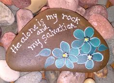 Hand painted idaho rock paper by paintinstuff on etsy rock sayings, rock qu Pebble Painting, Pebble Art, Stone Painting, Painting Art, Paintings, Stone Crafts, Rock Crafts, Arts And Crafts, Kids Crafts