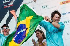 Brasileiros entre os velejadores da Volvo Ocean Race.