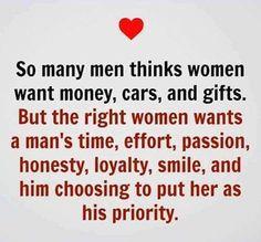 What men thinks
