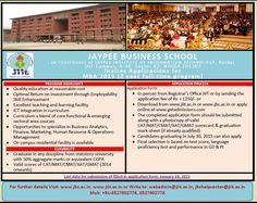 JBS MBA Admissions 2015