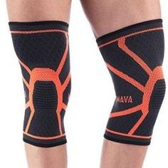 03c2414949 @exerciseandfitnesspro posted to Instagram: Mava Sports Knee Compression  Sleeve Support, Pair (Orange