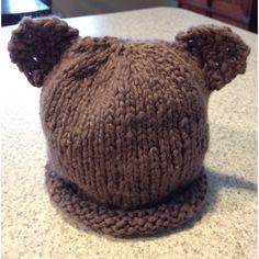 Baby bear hat I just made