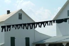 ~ Amish Clothes Line ~ Sarah's Country Kitchen ~ Pennsylvania Dutch Country Amish Farm, Amish Country, Pennsylvania Dutch Country, Amish Culture, Amish Community, Lancaster County, Arte Popular, Country Kitchen, Laundry Room