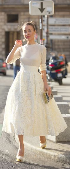 Street-Style. awesome for a casual look wedding