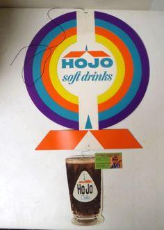 Vintage-1960s-HOWARD-JOHNSONS-HOJO-COLA-IN-STORE-MOBILE-UNUSED-w-instructions