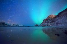 Aurora Borealis Norway/Lofoten by Benjamin Jaworskyj on 500px