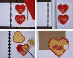 Valentine scratch off cards tutorial