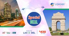 At Low Fare Travel, we have been satiating the wanderlust of customers from all over the country for over a decade. Avail our special offers and deals on international flights! Family Trips, Family Travel, Travel Specials, Cheap Air Tickets, International Flights, Round Trip, A Decade, The Good Place, Burns
