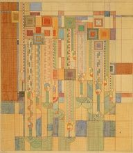Frank Lloyd Wright's contributions to graphic design