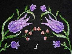Lale Cross Stitch Rose, Hand Embroidery Patterns, Kids Rugs, Crochet, Decor, Tulips, Towels, Cross Stitch, Craft