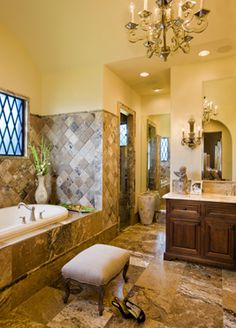 old world hacienda | bath
