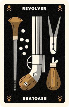 Clue Card Revolver, Andrew Kolb