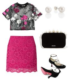 """""""Untitled #642"""" by mchlap on Polyvore featuring Miss Selfridge, Gucci and Miu Miu"""