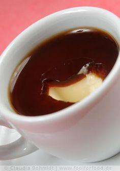 Panna Cotta mit Espresso-Gelee