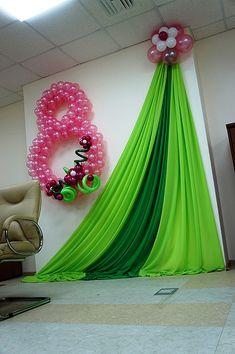 Birthday Decorations At Home, Wedding Stage Decorations, Balloon Decorations Party, Backdrop Decorations, Ramadan Decoration, Elegant Birthday Party, Background Decoration, Backdrops For Parties, Event Decor