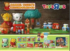 New Daniel Tiger's Neighborhood toys! -I will be making a trip to Jackson soon so I can buy some Daniel Tiger toys to use as decorations/presents! Baby Boy 1st Birthday, Third Birthday, 4th Birthday Parties, Baby Birthday, Birthday Ideas, Daniel Tiger Party, Daniel Tiger Birthday, Daniel Tiger's Neighborhood Toys, Party On Garth