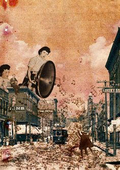 The city where the music falls by Toshiaki Uchida, via Flickr