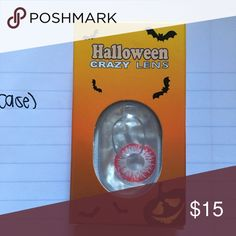 HALLOWEEN LENS AND CASE 1 pair + a FREE case with purchase. BUNDLE and save even more!! Accessories Belts