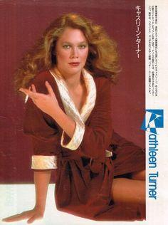 Kathleen Turner Smoking   KATHLEEN TURNER pinup – Smoking cigarette in skimpy robe! ZTAMS Kathleen Turner, Celebs, Celebrities, Alter, American Actress, Pin Up, Teen, Actresses, Stars