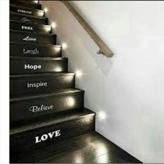 Iluminacin tcnica para exterior e interior con luz led modelo luces para escaleras iluminacion secuencial y automatica focos para escaleras y pasillos fandeluxe Images