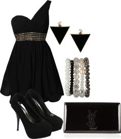 """""""Kaylee's Club Outfit"""" by chrissyhenderson ❤ liked on Polyvore"""