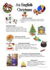 An English Christmas worksheet - Free ESL printable worksheets made by teachers Christmas Worksheets, Christmas Jokes, Christmas Activities, A Christmas Story, Christmas Traditions, Christmas Quiz, Christmas Trivia, English Time, Learn English