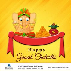 With a pinch of deliciousness and a dash of hospitality, we welcome you to celebrate the grand occasion of Ganesh Chaturthi for a happy indulgence.   #HappyGaneshChaturthi #GaneshChaturthi #Wishes #Happiness #ParkPlaza #ParkPlazaKolkata