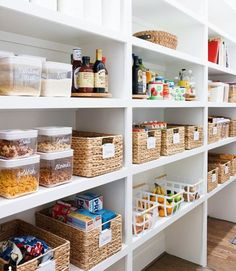 Pantry Organization Ideas: The Only 6 (Cheap!) Items You'll Need | Kate Decorates