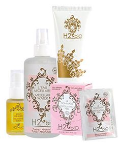 #H2biO is the name of the #h2oathome line of organic personal care products. Our personal care products are certified COSMEBIO®, one of the most demanding third party regulatory authorities for organic skin care.