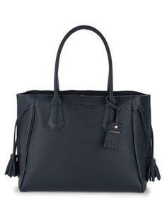 LONGCHAMP Penelope Leather Zipped Shoulder Bag. #longchamp #bags #shoulder bags #hand bags #leather #