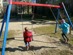 #kids #playground #spring #Poland