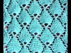 Point fantaisie tressé au crochet très facile / Punto fantasia trenzado tejido a crochet - YouTube