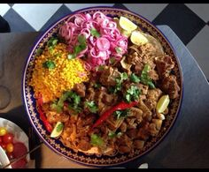 Kurdish Food, Curry, Rice, Ethnic Recipes, Curries, Laughter, Jim Rice