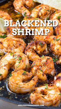 Shrimp Recipes For Dinner, Grilled Shrimp Recipes, Shrimp Recipes Easy, Seafood Dinner, Spicy Recipes, Salmon Recipes, Seafood Recipes, Chicken Recipes, Cooking Recipes